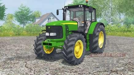 John Deere 6620 islamic green for Farming Simulator 2013