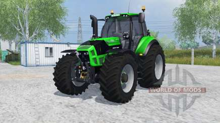 Deutz-Fahr 7250 TTV Agrotron MoreRealistic for Farming Simulator 2013