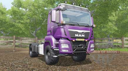 MAN TGS 18.480 plum for Farming Simulator 2017