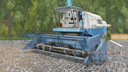 Fortschritt E 512 ball blue for Farming Simulator 2015