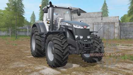 Massey Ferguson 8727〡8732〡8737 Black Edition for Farming Simulator 2017