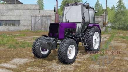 MTZ-Belarus 1025 color selection color for Farming Simulator 2017