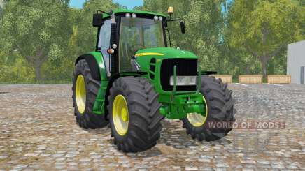 John Deere 7530 Premium FL for Farming Simulator 2015