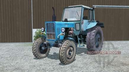 MTZ-80, Belarus blue for Farming Simulator 2013