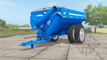 Kinze 1050 gradus blue for Farming Simulator 2017