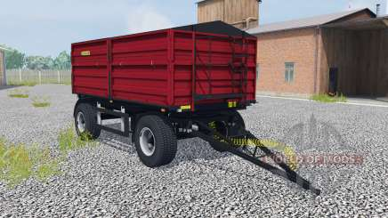Zaslaw D-737AA-14 ruby red for Farming Simulator 2013