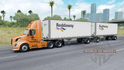 Painted Truck Traffic Pack v2.8 for American Truck Simulator