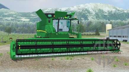 John Deere S690i spanish green for Farming Simulator 2013