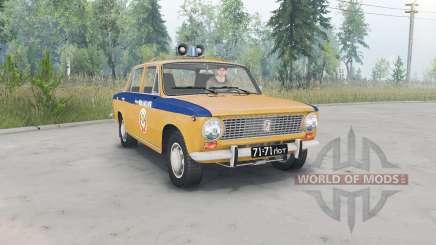 VAZ-2101 Lada GAI USSR for Spin Tires