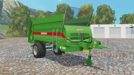 Bergmann M 1080 north texas green for Farming Simulator 2015