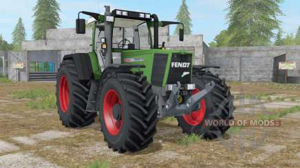 Fendt Favorit 926 Vario sea green for Farming Simulator 2017