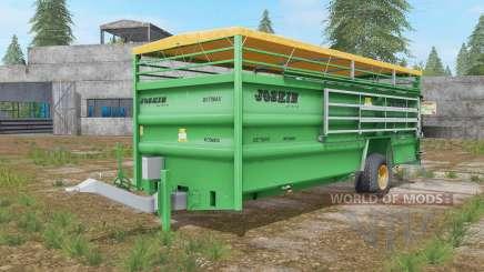 Joskin Betimax RDS 6000 jade for Farming Simulator 2017