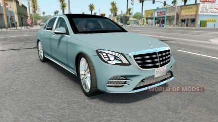 Mercedes-Benz S 400 d Lang AMG Line (V222) 2017 for American Truck Simulator