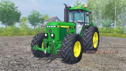 John Deere 4455 pantone green for Farming Simulator 2013
