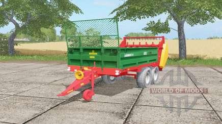 Warfama N218-2 spanish green for Farming Simulator 2017