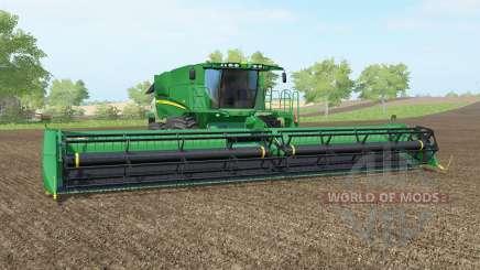 John Deere S690i pantone greeꞑ for Farming Simulator 2017