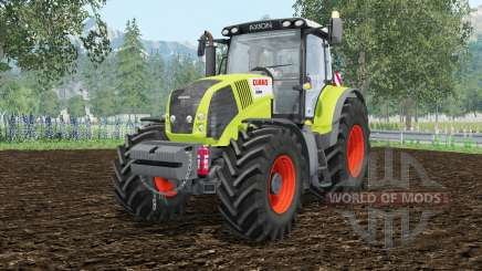 Claas Axion 850 extra weightᶊ for Farming Simulator 2015