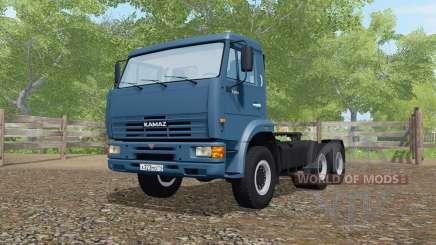 KamAZ-65116 dark blue color for Farming Simulator 2017
