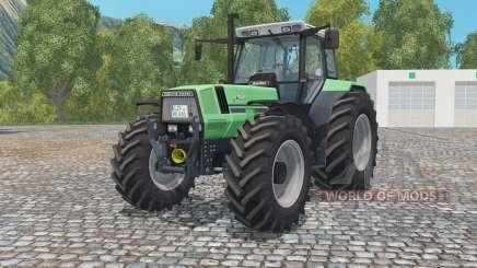 Deutz-Fahr AgroStar 6.81 medium sea green for Farming Simulator 2015