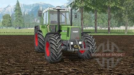 Fendt Favorit 615 LSA Turbomatik E wheel shader for Farming Simulator 2015