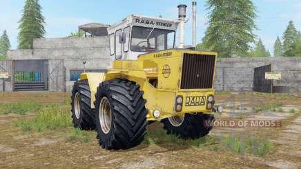 Raba-Steiger 250 minion yellow for Farming Simulator 2017