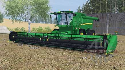 John Deere S670&S680 dartmouth green for Farming Simulator 2013