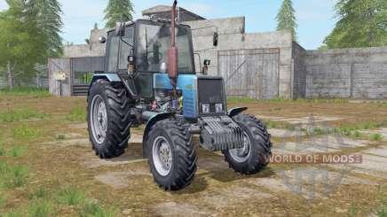 MTZ-Belarus 1025 blue for Farming Simulator 2017