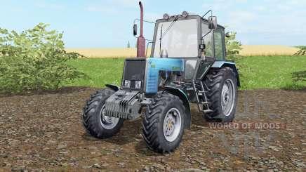 MTZ-Belarus 1025 blue okra for Farming Simulator 2017