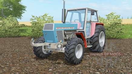 Zetor Crystal 12045 blue green for Farming Simulator 2017
