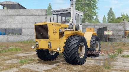 Raba-Steiger 250 indian yellow for Farming Simulator 2017