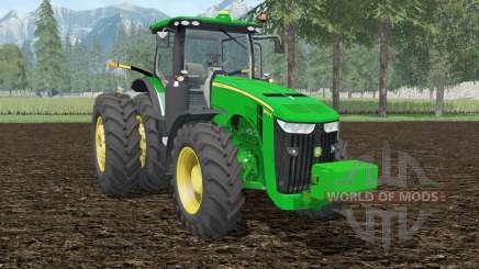 John Deere 8370R islamic green for Farming Simulator 2015