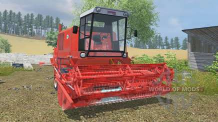 Bizon Super Z056 coral red for Farming Simulator 2013