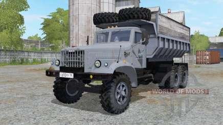 KrAZ-256 greyish blue for Farming Simulator 2017