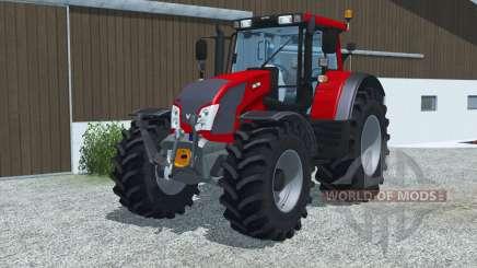 Valtra N163 bright red for Farming Simulator 2013