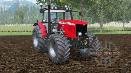 Massey Ferguson 6480 double wheels for Farming Simulator 2015
