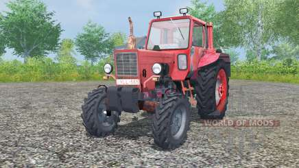MTZ-80, Belarus is moderately red color for Farming Simulator 2013