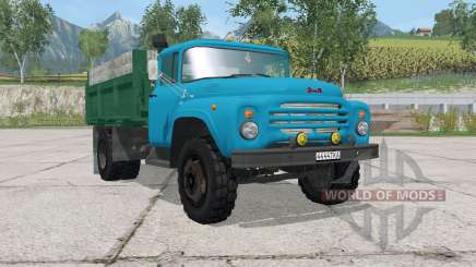 ZIL-MMZ-554 blue color for Farming Simulator 2015