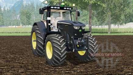 John Deere 6210R Black Editioꞑ for Farming Simulator 2015