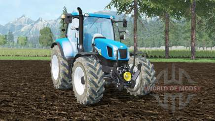 New Holland T6.140 front loader for Farming Simulator 2015