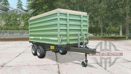 Brantner TA 14045-2 XXL dark sea green for Farming Simulator 2015