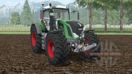 Fendt 828 Vario shamrock green for Farming Simulator 2015