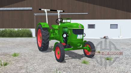 Deutz D 40S islamic greeɳ for Farming Simulator 2013