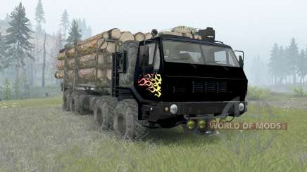 KrAZ-7E-6316 Siberia for Spin Tires