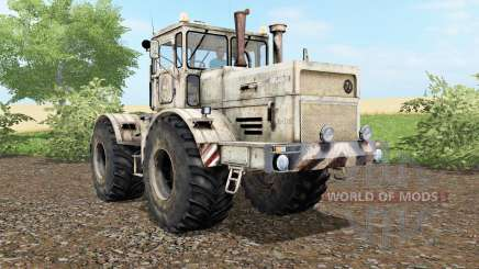 Kirovets K-701 dust and traces of wheels for Farming Simulator 2017