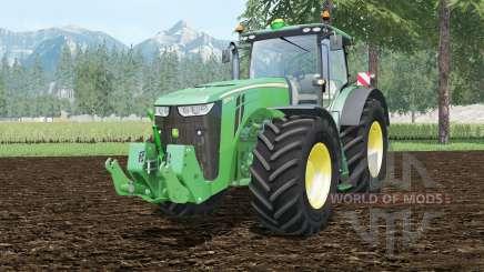 John Deere 8370R full cabine control for Farming Simulator 2015