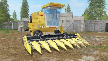 New Holland Clayson 8070 minion yellow for Farming Simulator 2017