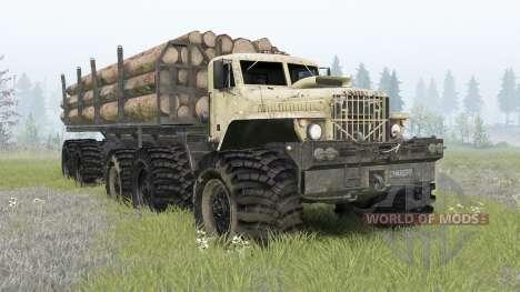 KrAZ Monster for Spin Tires