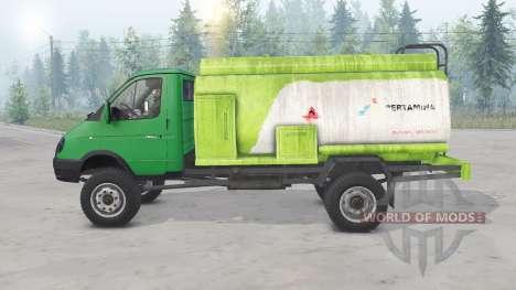 GAZ-33104 Valdai for Spin Tires