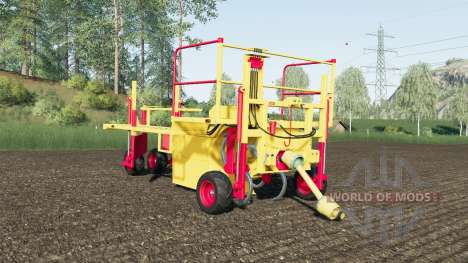 Damcon PL-75 sixty tree saplings pallets for Farming Simulator 2017
