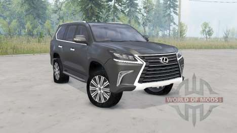 Lexus LX 570 for Spin Tires